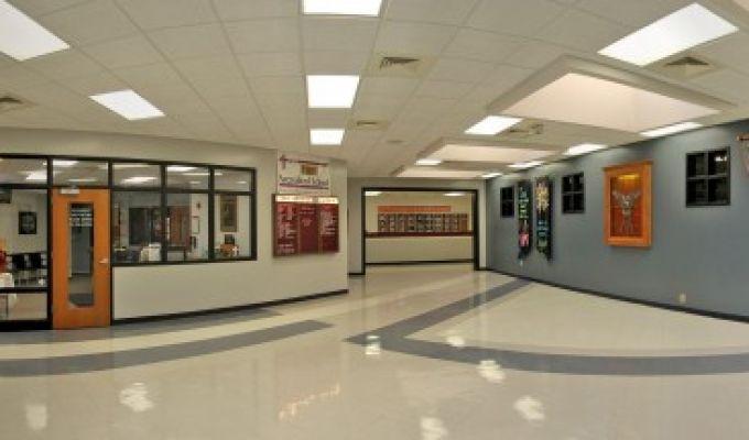 Good Shepherd School Lobby