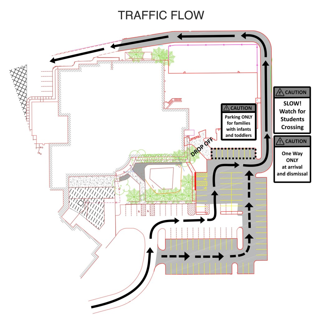 ECC-rear-lot-traffic-flow