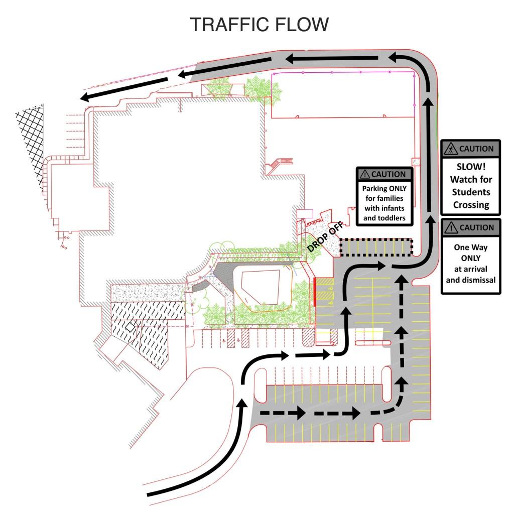 ECC-rear-lot-traffic-flow